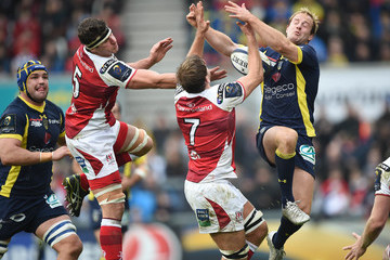 Chris Henry Ulster Rugby v ASM Clermont Auvergne - European Rugby Champions Cup