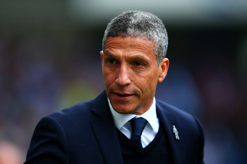 Chris Hughton Brighton & Hove Albion v Wigan Athletic - Sky Bet Championship