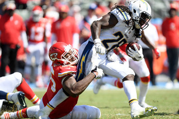 Chris Jones Kansas City Chiefs vs. Los Angeles Chargers