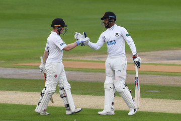 Chris Jordan Sussex vs.Leicestershire - Specsavers County Championship Division Two