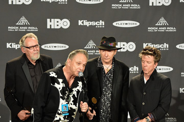 Chris Layton 30th Annual Rock And Roll Hall Of Fame Induction Ceremony - Press Room