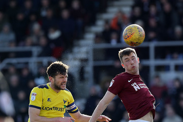 Chris Long Northampton Town vs. Oxford United - Sky Bet League One