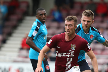Chris Long Northampton Town v Fleetwood Town - Sky Bet League One