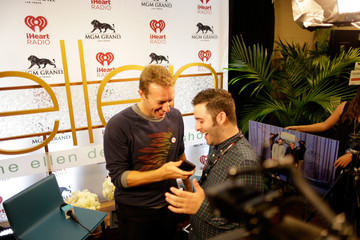 Chris Martin 2014 iHeartRadio Music Festival - Night 1 - Backstage