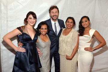 Chris O'Dowd Miranda Tapsell Red Carpet Arrivals at 'The Sapphires' Screening