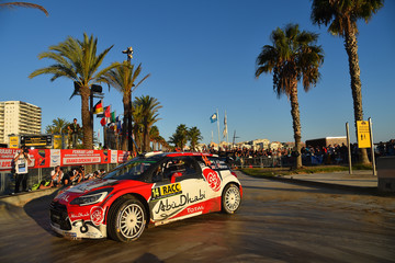 Chris Patterson FIA World Rally Championship Spain - Day Two