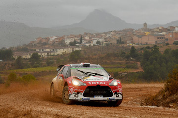 Chris Patterson FIA World Rally Championship Spain - Day One