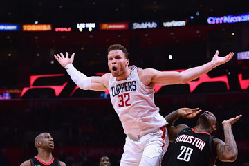 Chris Paul Blake Griffin Houston Rockets v Los Angeles Clippers