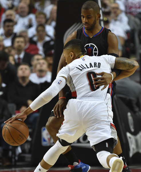 Portland Blazers Game: Chris Paul Damian Lillard Photos Photos
