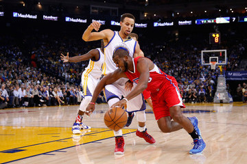 Chris Paul Stephen Curry Los Angeles Clippers v Golden State Warriors