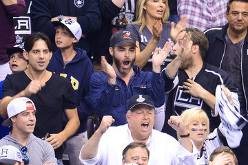 Chris Pine 2014 NHL Stanley Cup Final - Game Two