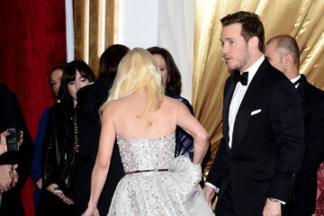 Chris Pratt Arrivals at the 87th Annual Academy Awards — Part 3