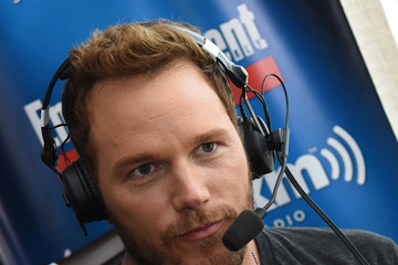 Chris Pratt SiriusXM's Entertainment Weekly Radio Channel Broadcasts From Comic-Con 2016 - Day 3