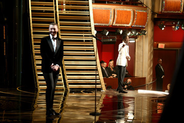 Chris Rock Alternative Views of the 2016 Oscars Stage
