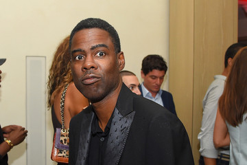 Chris Rock Celebrities Attend the Rihanna Party at The New York EDITION