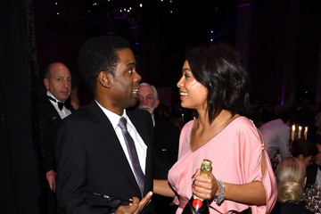 Chris Rock Moet & Chandon Toasts To The amfAR Gala In NYC