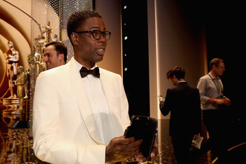 Chris Rock Backstage at the 2016 Academy Awards