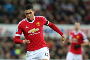 Chris Smalling Newcastle United v Manchester United - Premier League