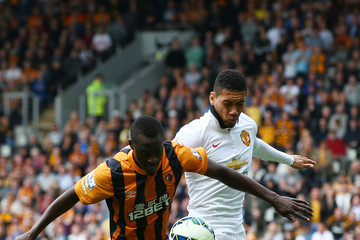 Chris Smalling Hull City v Manchester United - Premier League