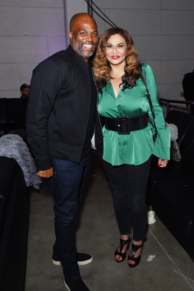 HBO Lil Rel Comedy Special Screening, Panel, And Reception [fashion,tights,event,outerwear,leg,fashion design,fun,footwear,dress,suit,chris spencer,tina knowles,neuehouse hollywood,los angeles,california,hbo,l,reception,lil rel comedy special screening panel]