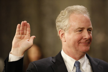 Chris Van Hollen The Vice President Swears in Members of the 115th Congress