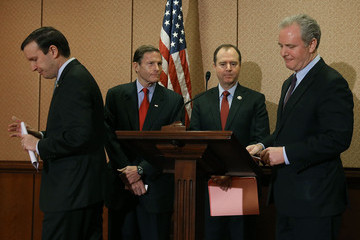 Chris Van Hollen Sens. Blumenthal, Murphy, and Rep. Schiff Discuss Gun Industry Legislation