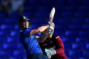 Chris Woakes WICB President's XI v England XI - Warm-up match