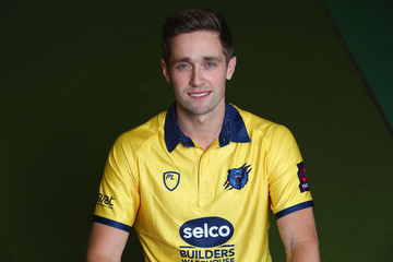 Chris Woakes Warwickshire CCC Photocall