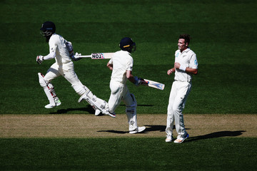 Chris Woakes Moeen Ali New Zealand vs. England - 1st Test: Day 1