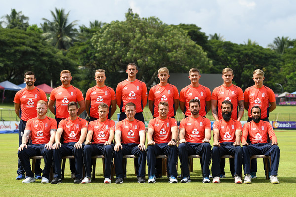 England Media Access [england,team,media access,back row,front row,team,team sport,sports,player,cricket,bat-and-ball games,ball game,championship,sport venue,uniform,tom curran,jonathan bairstow,mark wood,sam curran,jason roy]