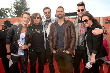 Chris Wood Dan Smith Arrivals at the iHeartRadio Music Awards — Part 2
