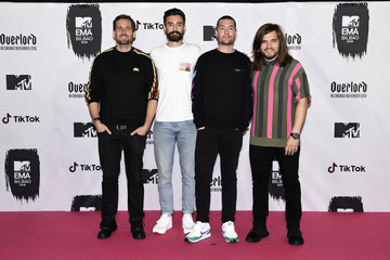Chris Wood Dan Smith MTV EMAs 2018 - Winners Room