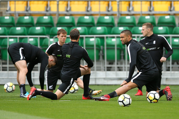 New Zealand All Whites Training Session