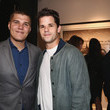 Chris Zylka Grand Opening Maddox Gallery Los Angeles