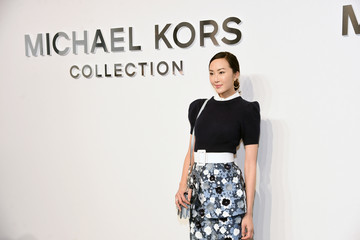 Chriselle Lim Michael Kors Collection Fall 2017 Runway Show - Front Row