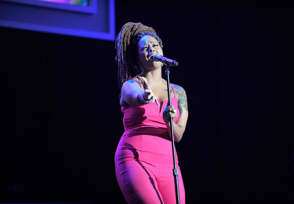 Chrisette Michele Performs Live At Neighborhood Awards
