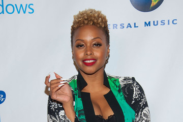 Chrisette Michelle Stars at the Post-Grammy Party