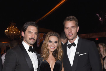 Chrishell Stause FOX, FX, and Hulu 2018 Golden Globe Awards After Party - Inside
