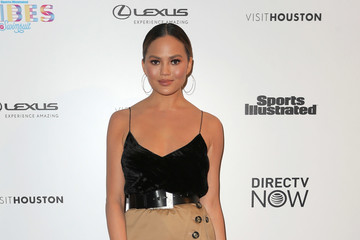 Chrissy Teigen VIBES By Sports Illustrated Swimsuit 2017 Launch Festival - Day 1