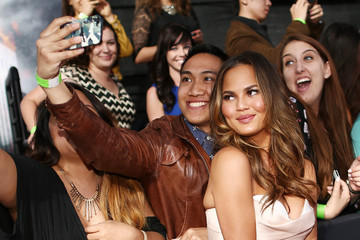 Chrissy Teigen Arrivals at the MTV Movie Awards — Part 3