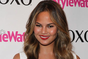 Chrissy Teigen Fall '14 Campaign Launch Party