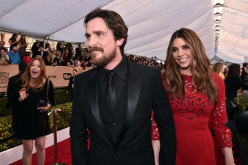Christian Bale 22nd Annual Screen Actors Guild Awards - Red Carpet