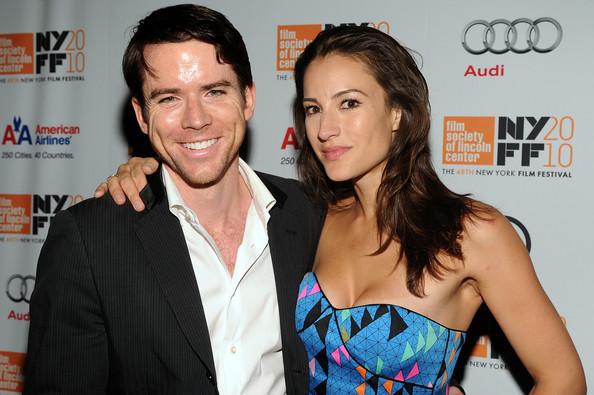 Christian Campbell with sexy, cute, Wife America Olivo