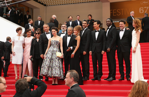 'Jimmy's Hall' Premieres at Cannes [red carpet,carpet,event,flooring,premiere,public event,fashion,dress,performance,suit,guest,guests,isabelle de araujo,christian clavier,frederique belguest,noom diawara,guest,cannes,jimmys hall premieres,premiere]