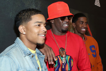 Christian Combs Justin Combs Premiere of Riveting Entertainment's 'Chris Brown: Welcome to My Life' at L.A. LIVE