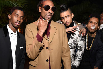 Christian Combs Quincy Brown 2017 GQ Men of the Year Party - Inside