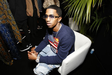 """Christian Combs Spotify Hosts """"Best New Artist"""" Party At The Lot Studios - Inside"""
