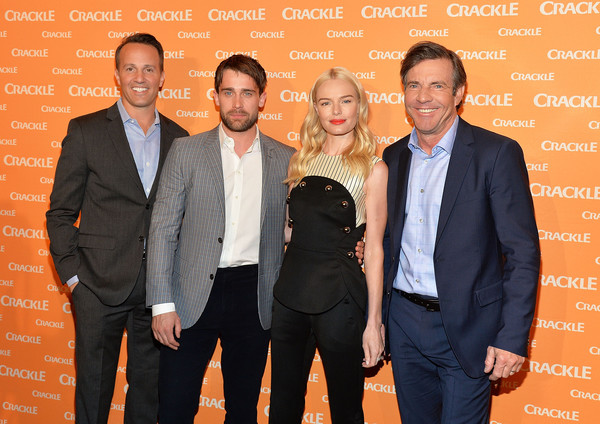 Crackle's 2016 Upfront Presentation [suit,event,formal wear,tuxedo,white-collar worker,premiere,smile,business,eric berger,vice president,actors,christian cooke,l-r,new york city center,crackle,networks,sony pictures television,upfront presentation]