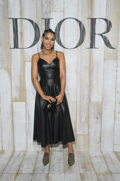 Christian Dior Couture S/S19 Cruise Collection: Photocall At Grandes Ecuries De Chantilly