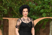 Bianca Jagger attends the Christian Dior Womenswear Spring/Summer 2020 show as part of Paris Fashion Week on September 24, 2019 in Paris, France.